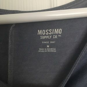 Mossimo Supply Co. Tops - 3/4 length blue missimo top